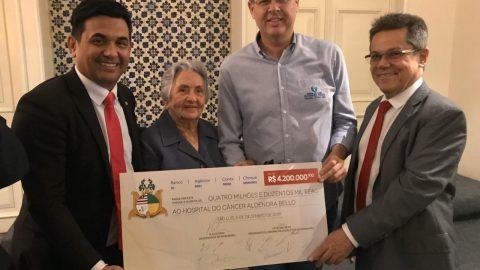 Wellington do Curso confirma sua independência e coerência durante assinatura de R$4,2 milhões para o Hospital Aldenora Bello