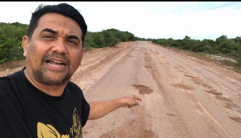 Wellington do Curso denuncia a situação precária da MA 315 e cobra ações do Governo